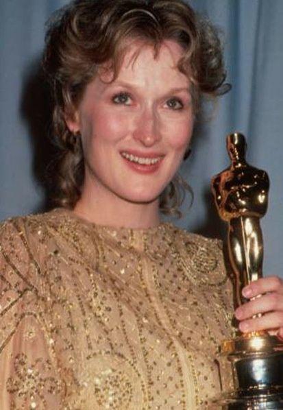 """Meryl Streep 1982 Oscar   Meryl Streep 1982 Oscar win for """"Sophie"""""""