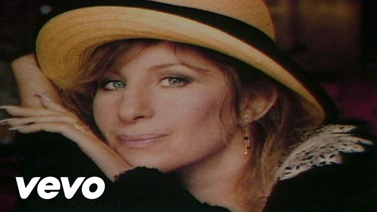 Barbra Streisand Singing Somewhere There S A Place For Us