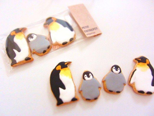 penguin cookie // Petit Entrepot