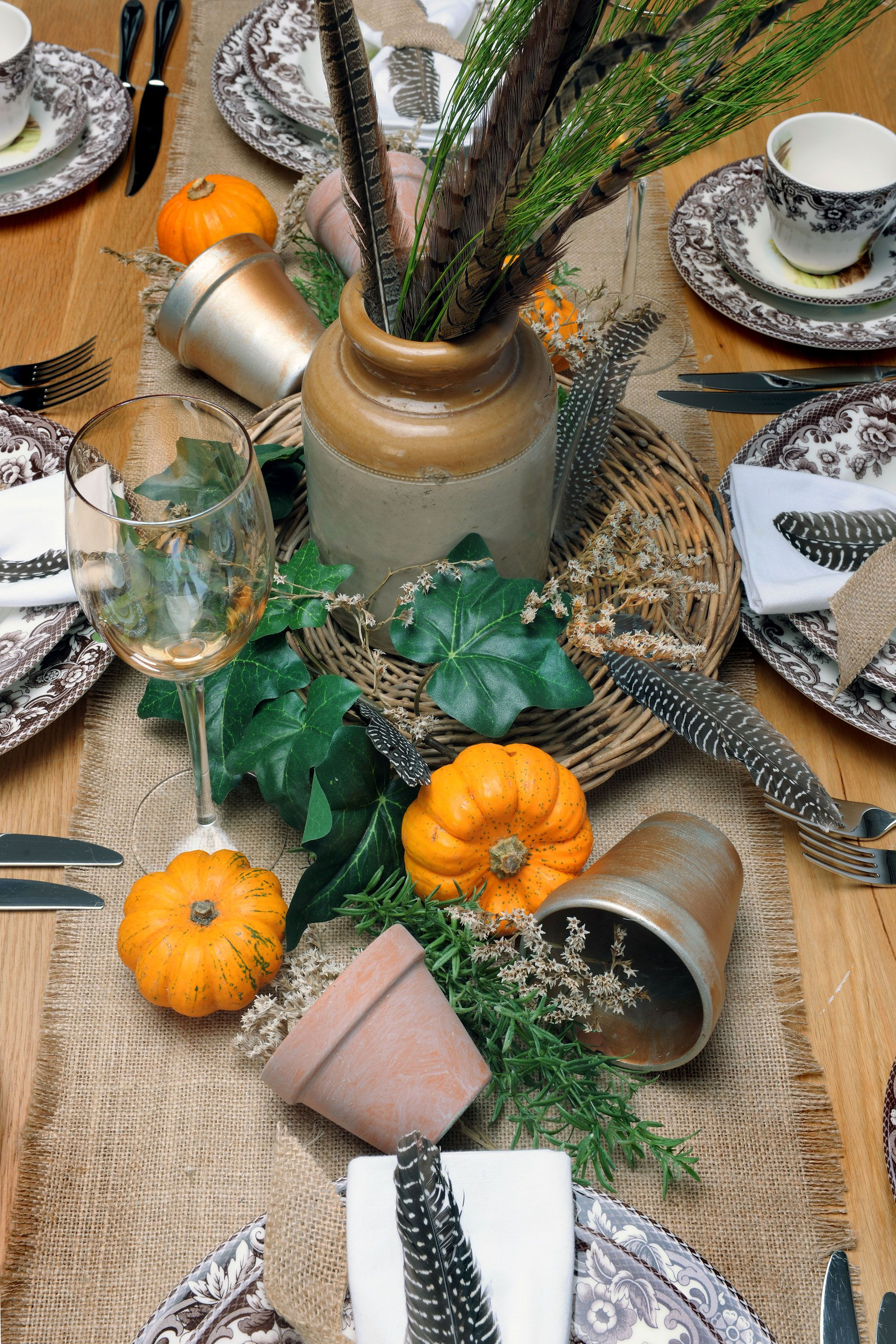 The Pumpkin Patch Table Halloween Table Ideas