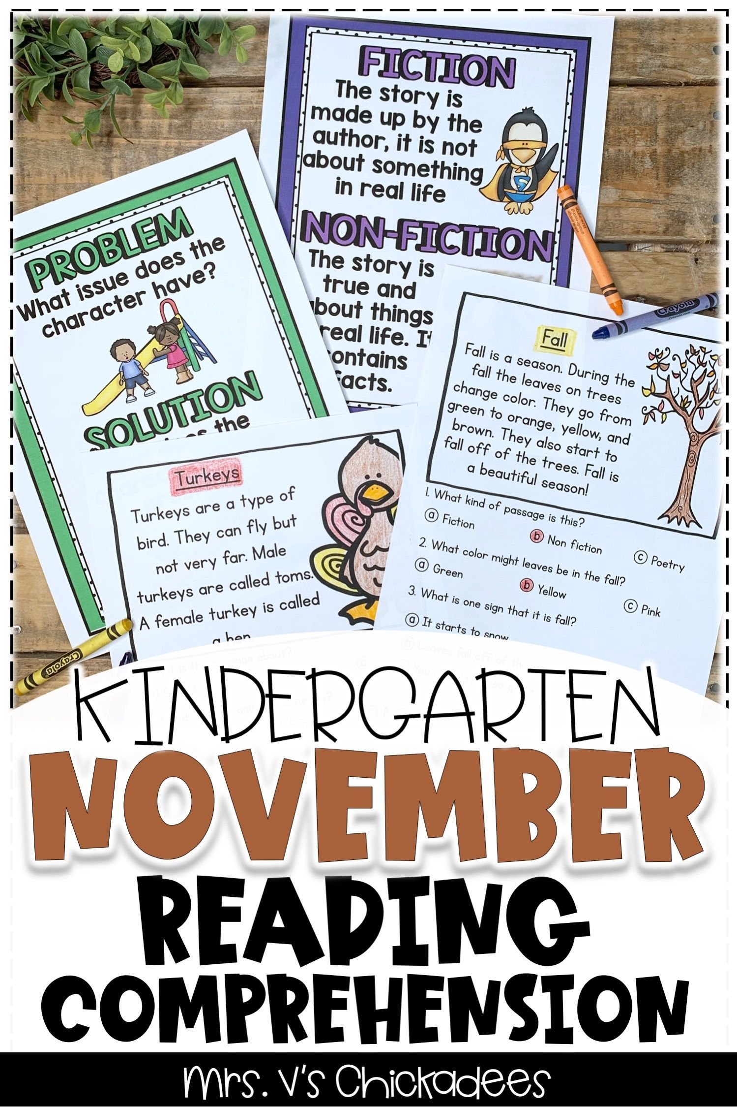 These Kindergarten Reading Comprehension Activities And Worksheets Are A Great Way Fo Reading Comprehension Passages Reading Comprehension Kindergarten Reading [ 2249 x 1499 Pixel ]