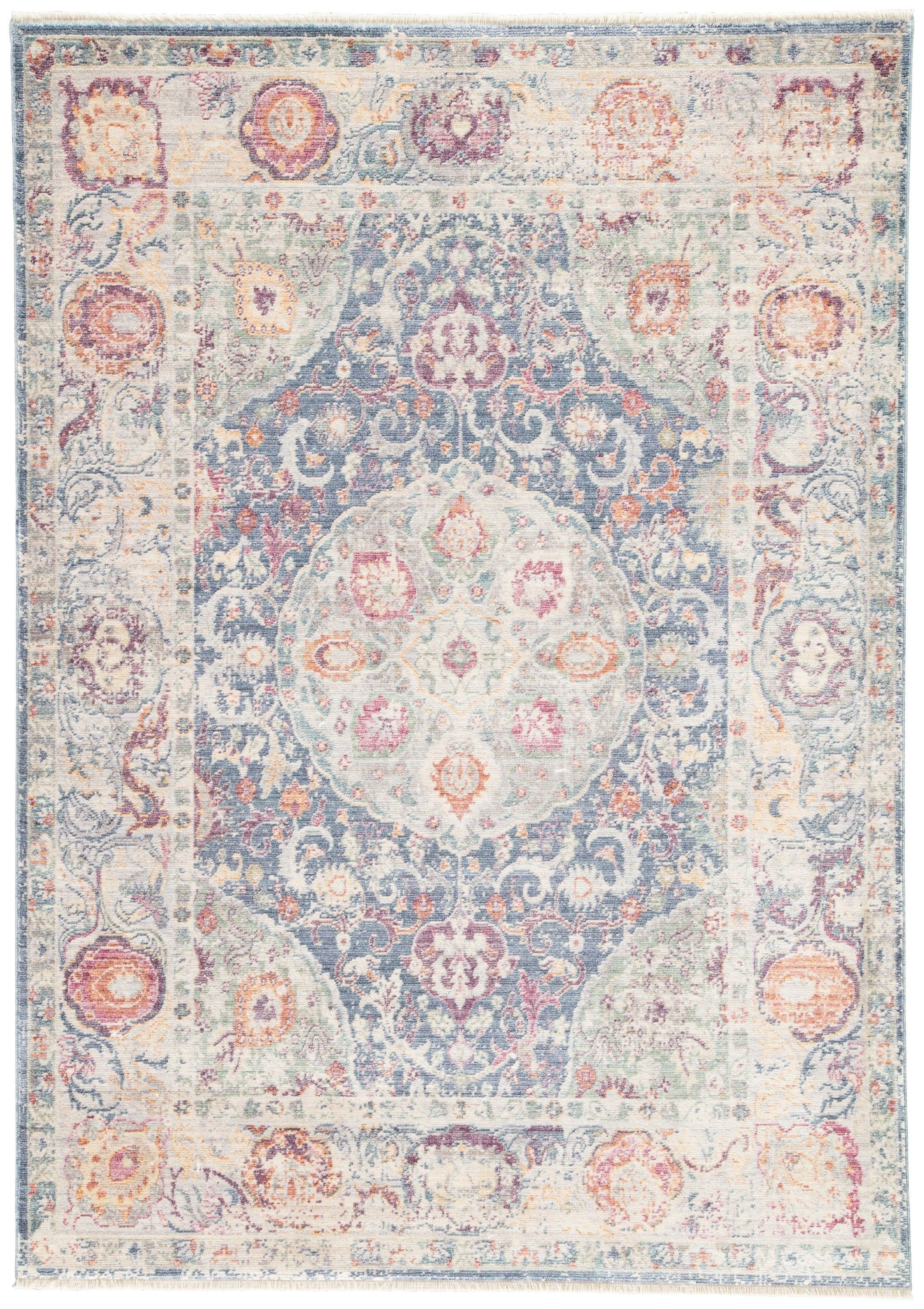 Make A Feminine Statement With Our Bahar Rug Rosettes And