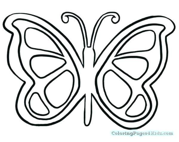 Butterfly Wings Coloring Pages Seasonal Colouring Pages Butterflies Butterfly Coloring Page Easy Butterfly Drawing Butterfly Printable