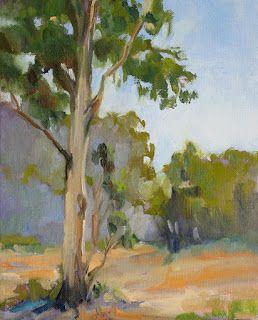 Eucalyptus Trees Eucalyptus Tree Tree Painting Painting