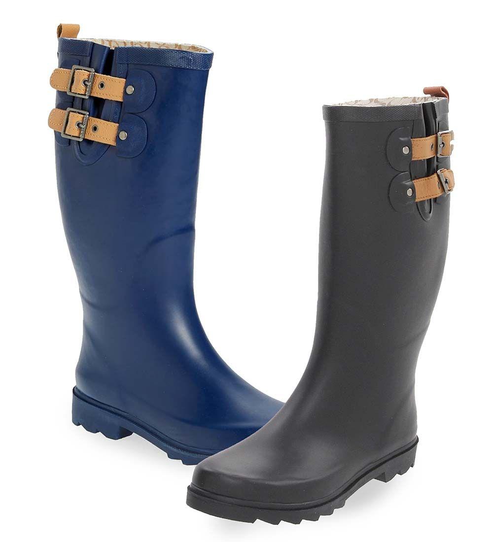 90122ed440ba Chooka Women s Tall Solid Rain Boot
