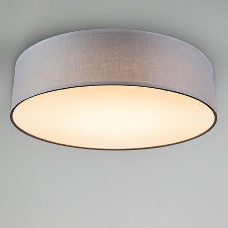 Deckenleuchte Drum LED 40 Grau Gönnen Sie Ihrer #Einrichtung Einen  #frischen #Look Mit