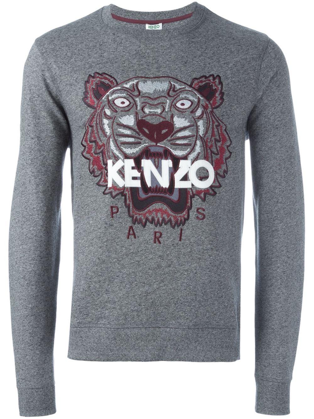 Sweatshirt Tigre | Pull kenzo, Vetements