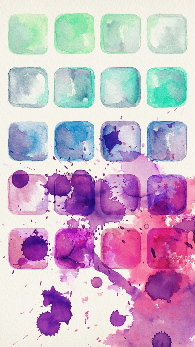Iphone Wallpaper D4U Shelf Find More Watercolor IPhone Android Wallpapers
