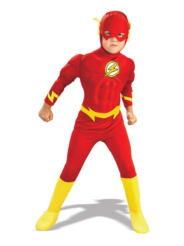 Child The Flash Muscle Chest Outfit Fancy Dress Costume Superheroes Kids Boys  sc 1 st  Pinterest & Child The Flash Muscle Chest Outfit Fancy Dress Costume Superheroes ...