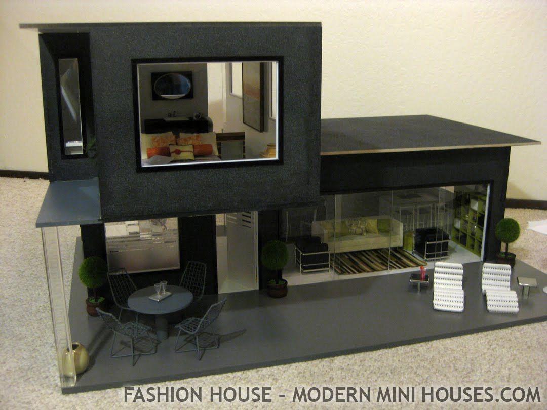 Modern mini houses love
