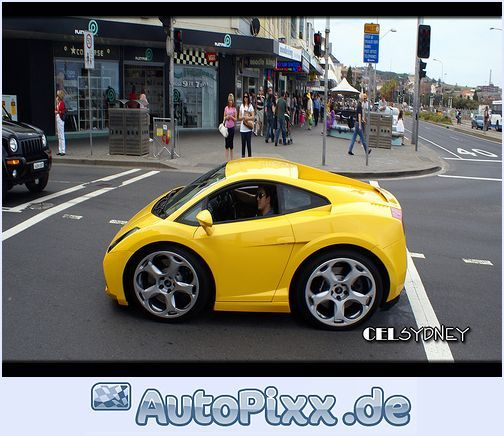 Your Car May Be Too Small...if It Fits In The Crosswalk