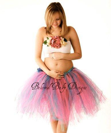 Ivory Tutu Skirt Maternity Photo Shoot Tulle Tutu Skirt Maternity Tutu Women/'s Tulle Skirt Floor Length Tulle Skirt Maternity Pictures