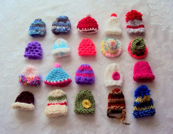 Hey, I found this really awesome Etsy listing at https://www.etsy.com/listing/124812339/knit-miniature-hats-home-decoration