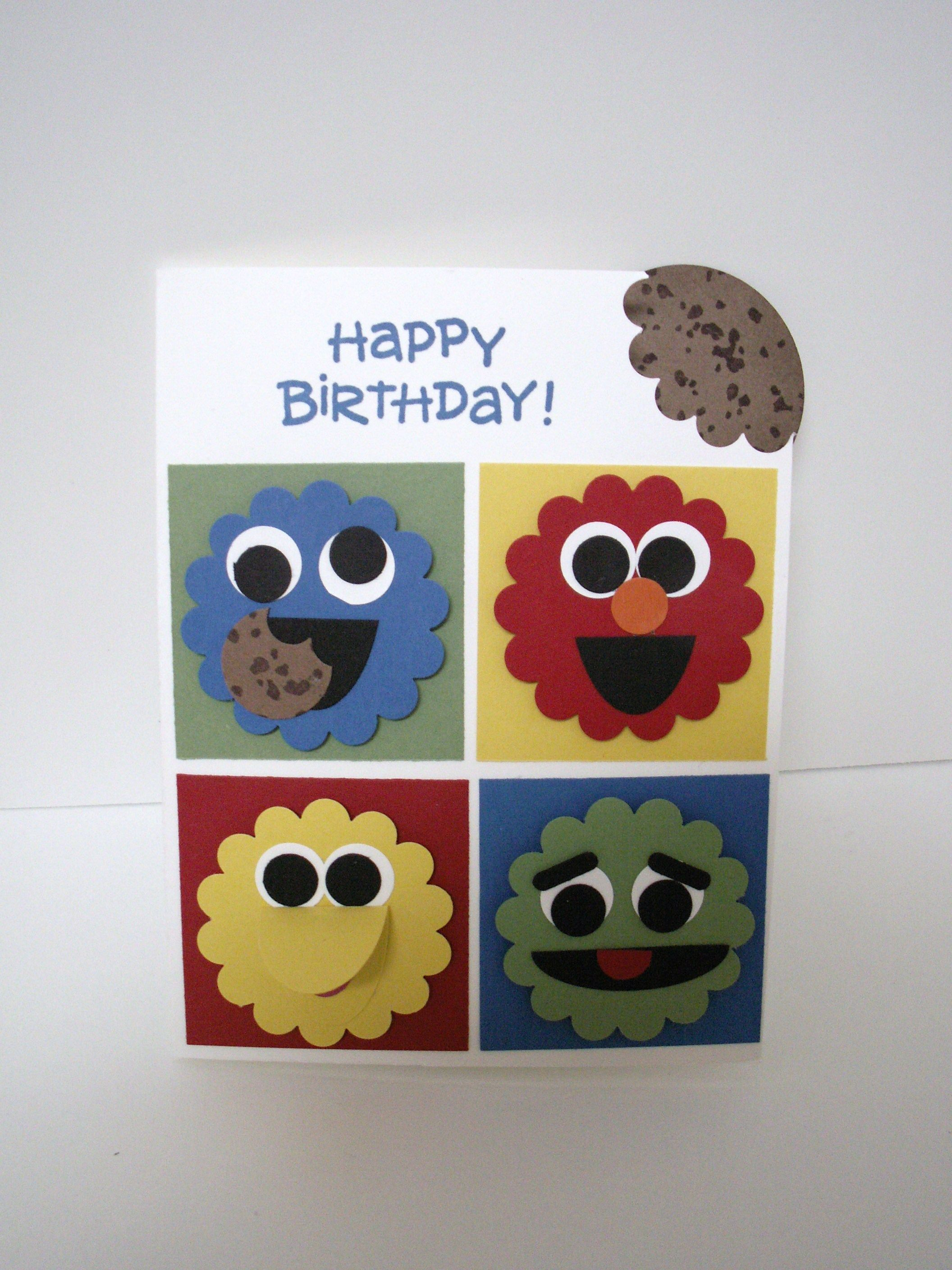 Birthday card for my 3 year old nephew