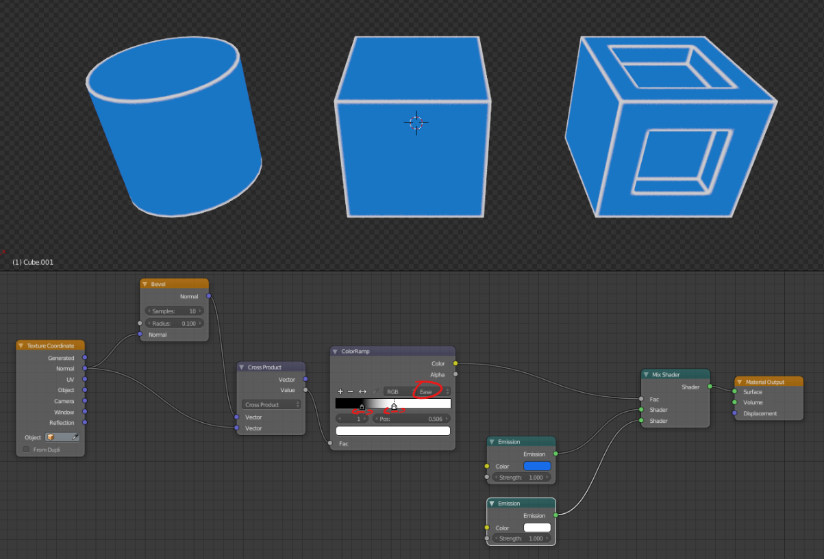 Wireframe Shader Normal Map Bevel This Or That Questions