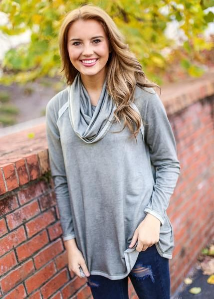 Olive Cowl Neck Sweater, $33.99, Free Shipping | olive green ...