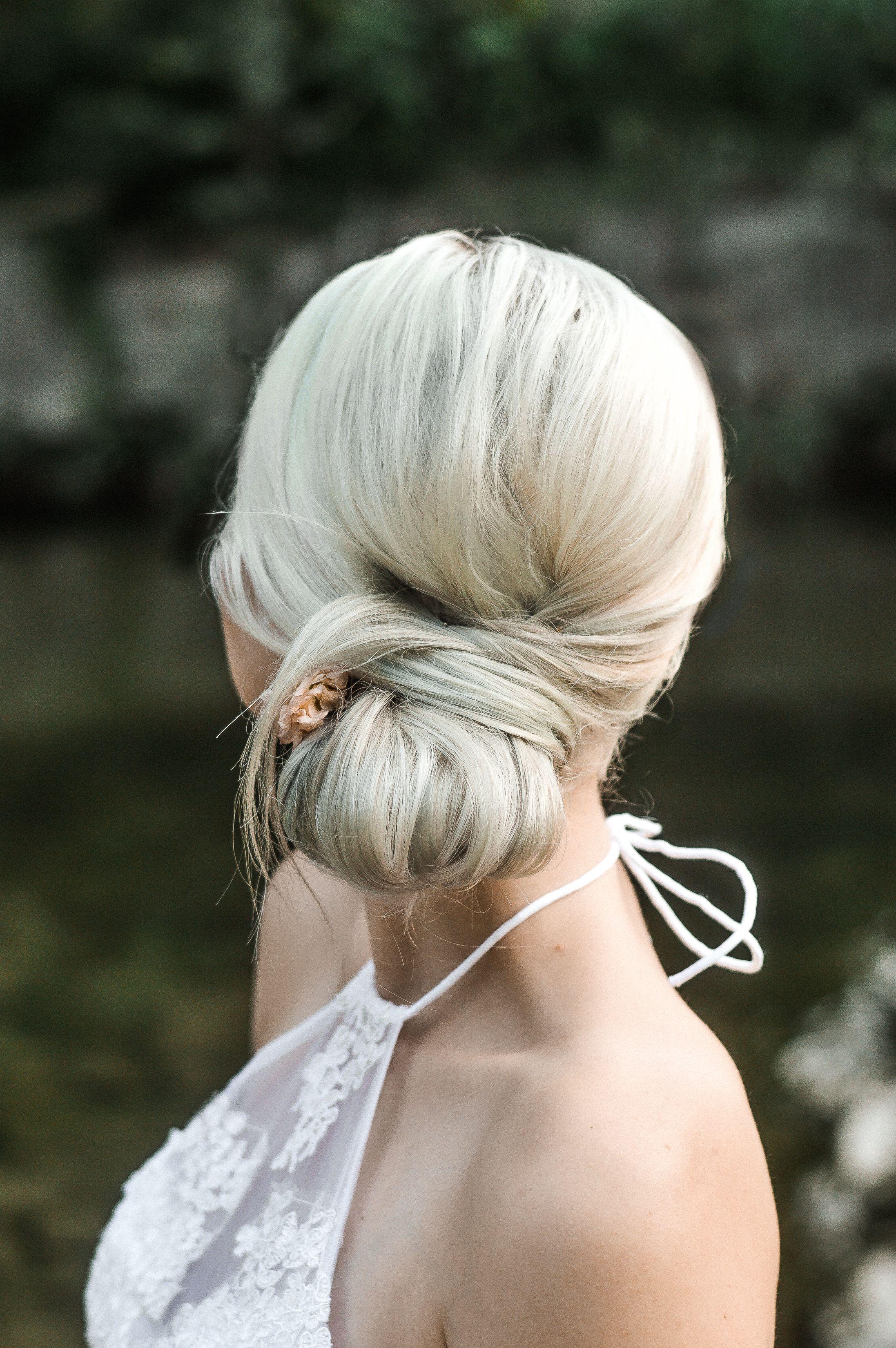 Sleek Wedding Updo Bridal Hair Sleek Wedding Updo Hair And Makeup Artist Artistic Hair