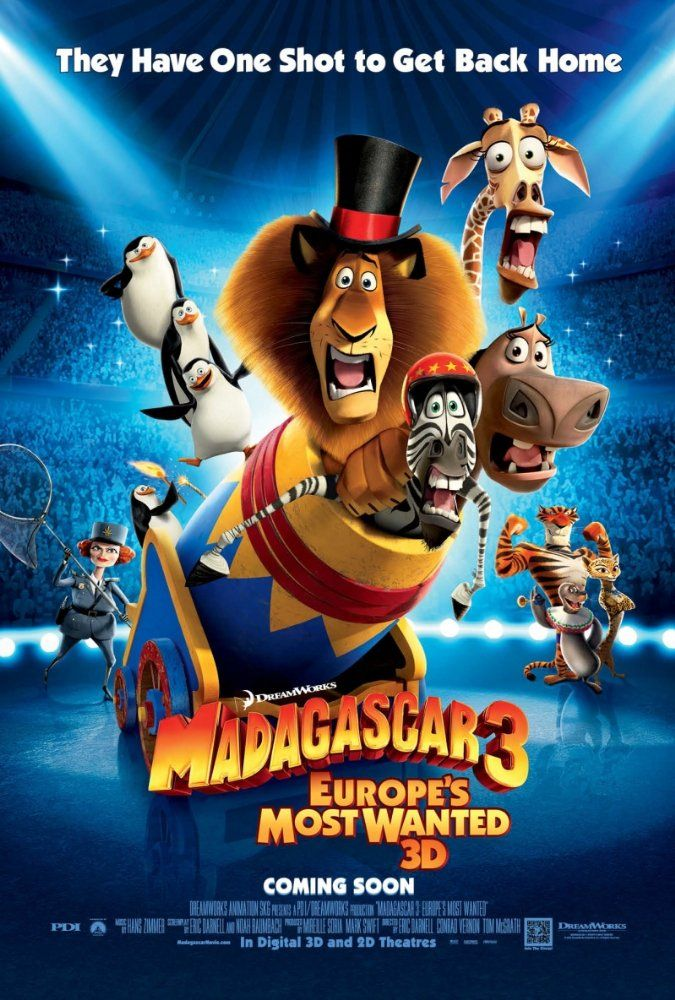 Madagascar 3 Europe S Most Wanted 2012 Imdb With Images