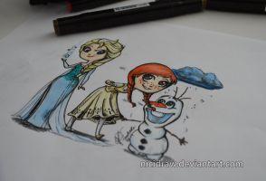 :Frozen: by NiciDraw