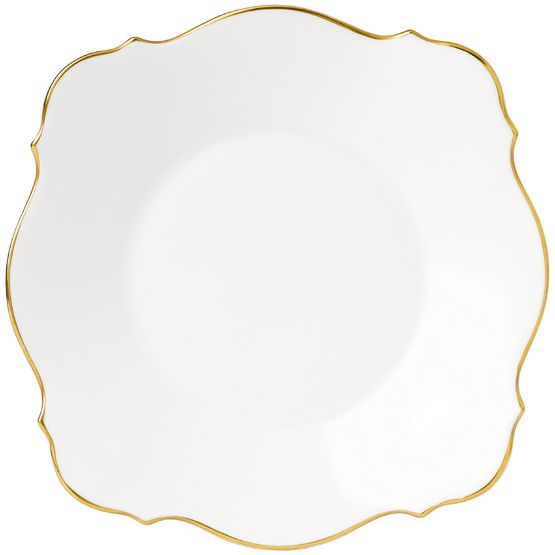 Wedgwood presentation plate, graceful.  Lovely to use as a charger as part of a place setting for a reception?