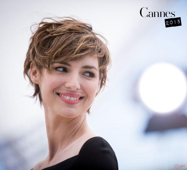 Cannes 2015 4 L'élégance de Louise Bourgoin Cheveux