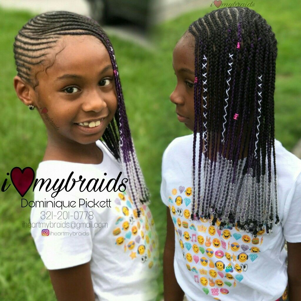 Babygirl Lemonade Braids Braids For Kids Kid Braid Styles Little Girl Braids