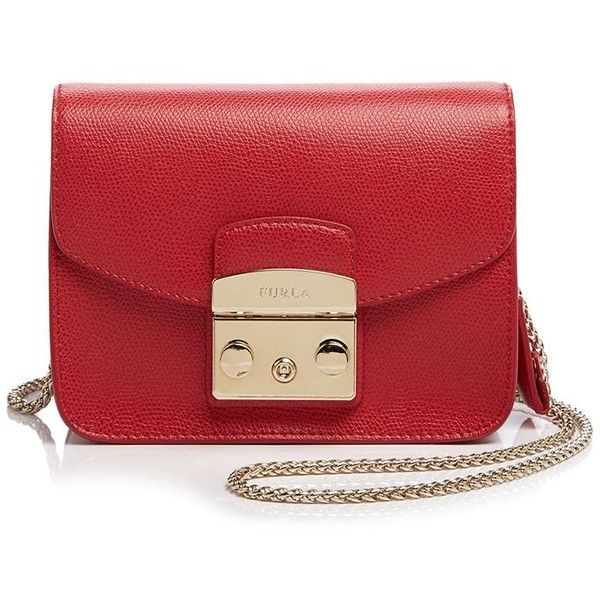 Furla Metropolis Mini Crossbody (5,600 MXN) ❤ liked on Polyvore ...