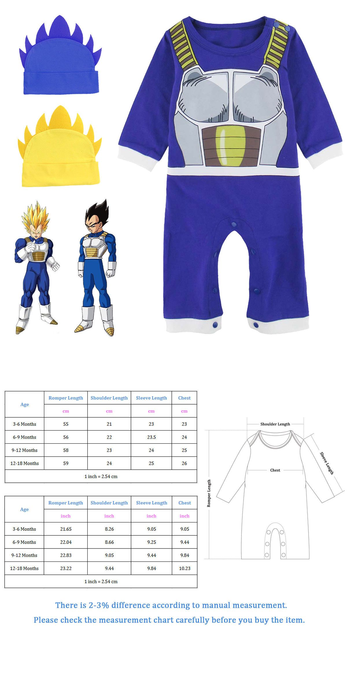 e2a2e3551 One-Pieces 57784: Baby Boy Dragon Ball Z Costume Romper Newborn Vegeta  Outfit Infant Halloween Set -> BUY IT NOW ONLY: $17.58 on #eBay #dragon  #costume ...