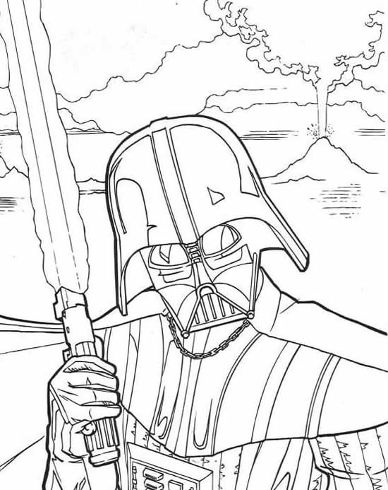 Coloriage Star Wars à imprimer | Coloring pages | Pinterest