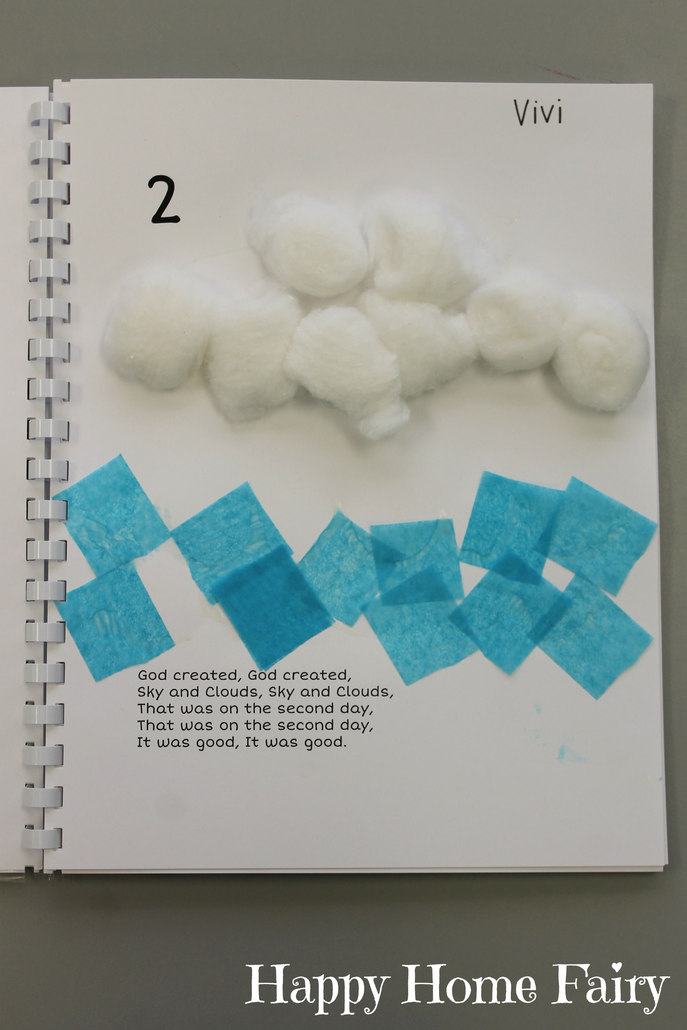 Creation Book - FREE Printable | Preschool bible lessons ...