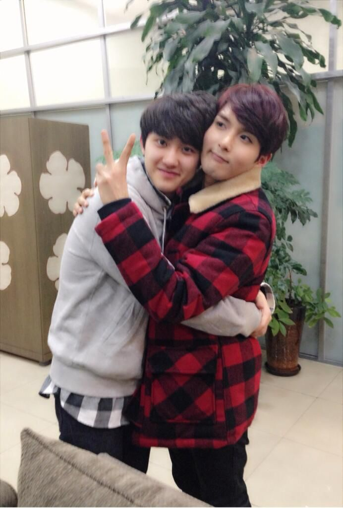 D.O. and Ryeowook on KBS Kiss The Radio (exo and Super Junior)