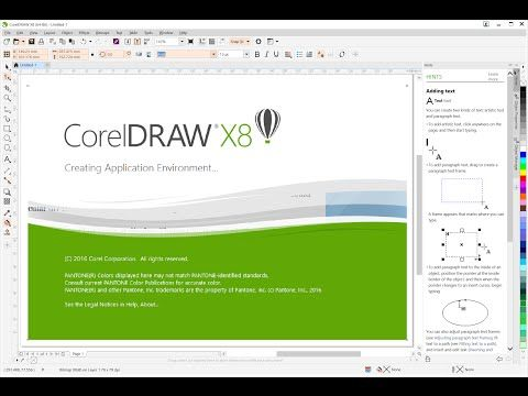How to disable corel draw x8 sign in