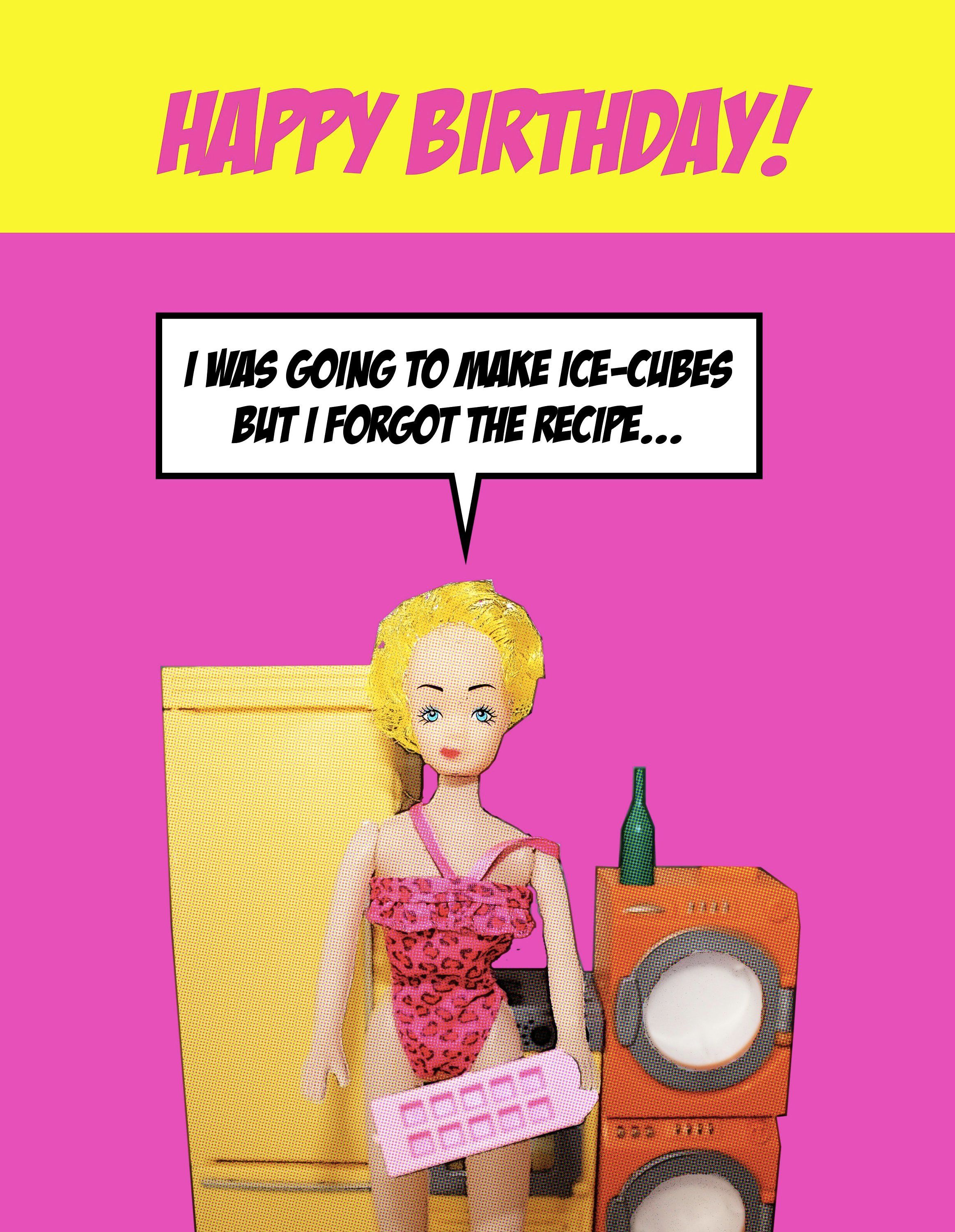 Funny Blonde Birthday Jokes