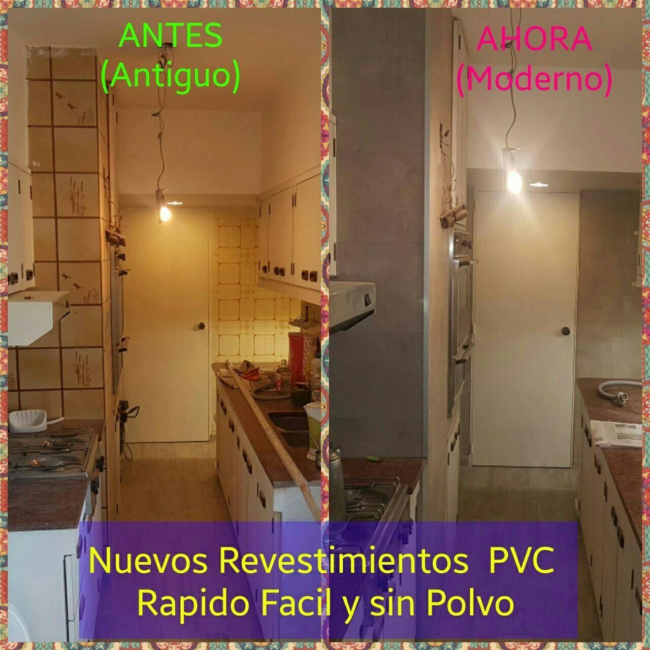 Nuevos revestimientos de PVC para Baños y Cocinas sin Obras ...