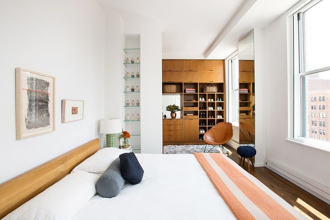 This new york home is how we all want to live bedrooming