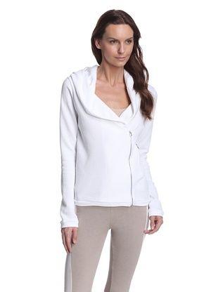 60% OFF Skin Women's Asymmetric Zip Jacket