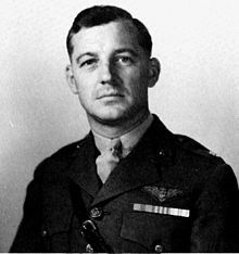 Lofton R. Henderson (May 24, 1903 – June 4, 1942) was a marine aviator in the United States Marine Corps during World War II. He was the Commanding Officer of Marine Scout Bombing Squadron 241 (VMSB-241) at the Battle of Midway and is recognized as the first Marine Aviator to die during that battle while leading his squadron to attack the Japanese carrier forces.While leading 16 Marine Corps planes in a dive bombing attack on the aircraft carrier Hiryū, his left wing burst into flames