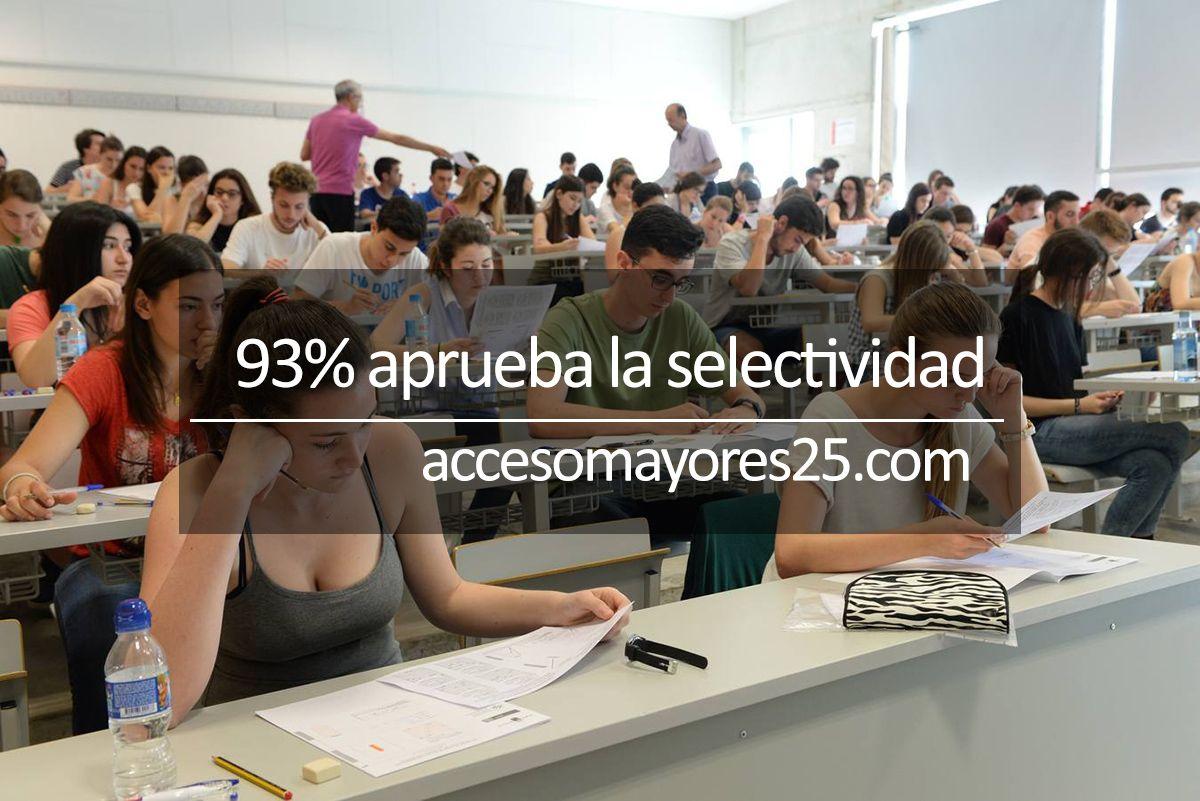 Exito de la selectividad en Murcia - http://www.accesomayores25.com/noticias/exito-selectividad-en-murcia/
