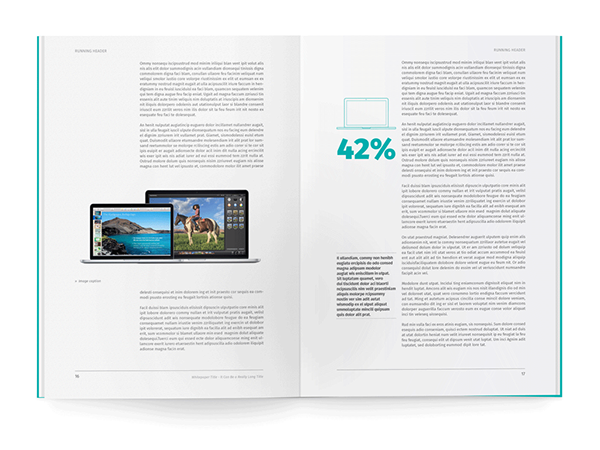 White Paper Template for InDesign on Behance | Reports White Papers ...
