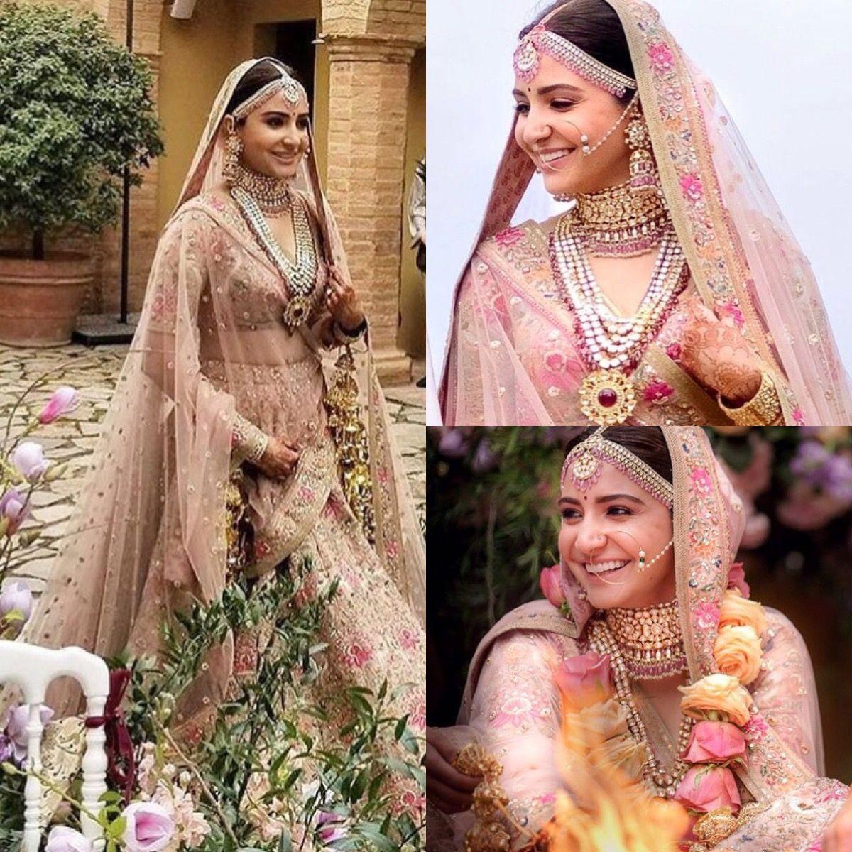 Anushka Sharma wedding photos 2017 | Bollywood wedding ...