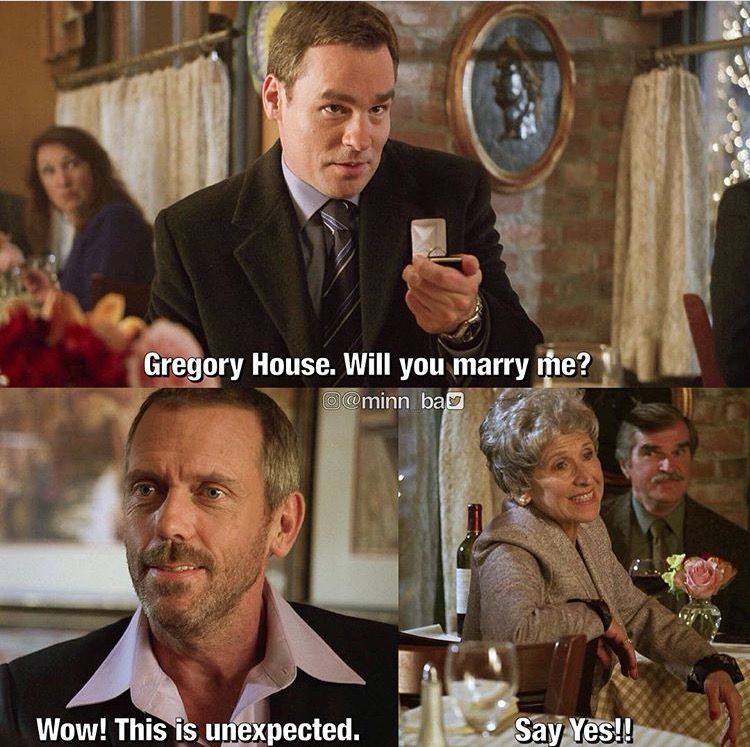 Lol I Remember This Episode Xd House Md Funny House Md Quotes Dr House