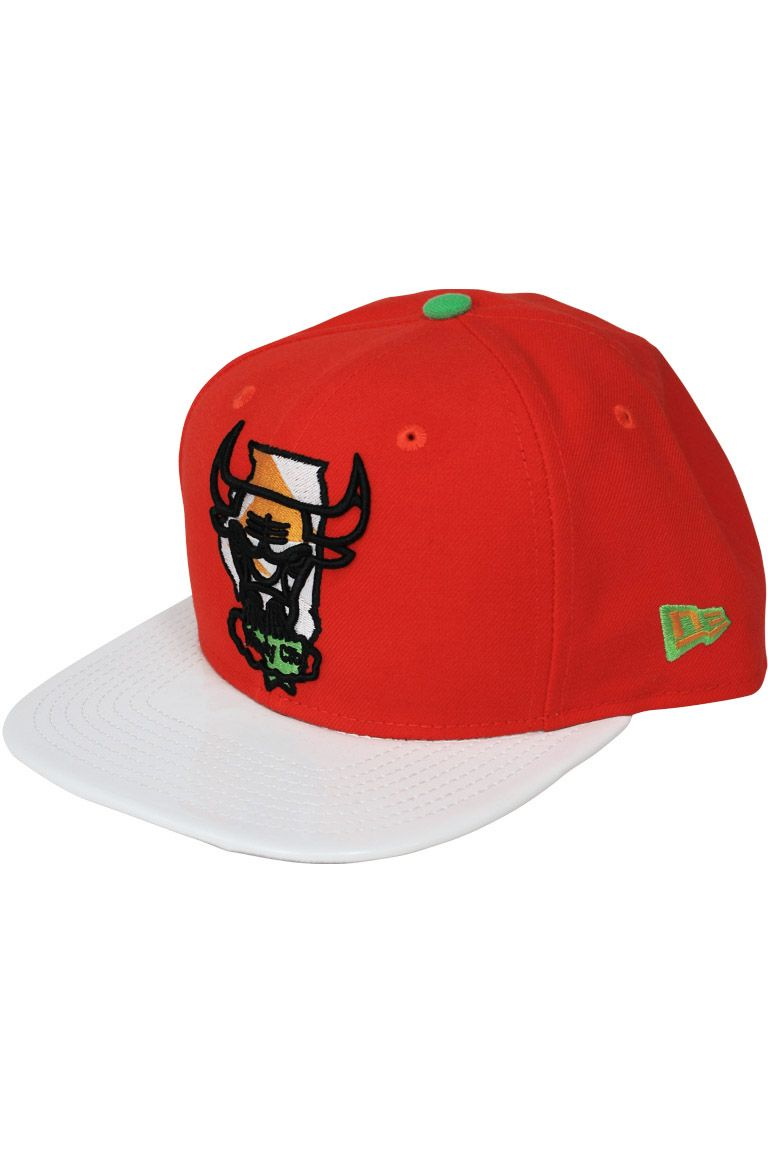 6639209a94b918 New Era Chicago Bulls Jordan 7 HARE SnapBack Red  32.00
