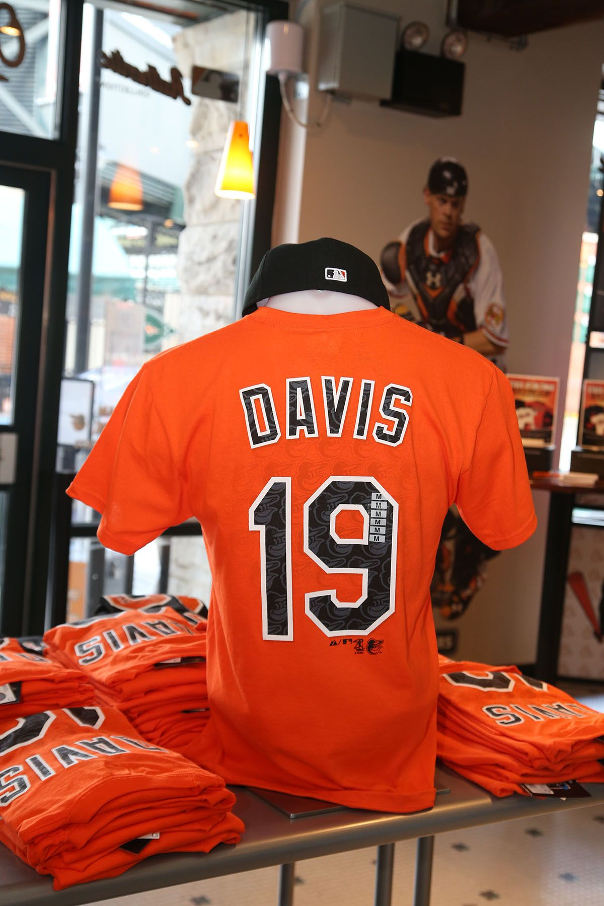 Chris Davis Repeat Name Number Tee By Majestic Chris Davis Number Tee Baltimore Orioles