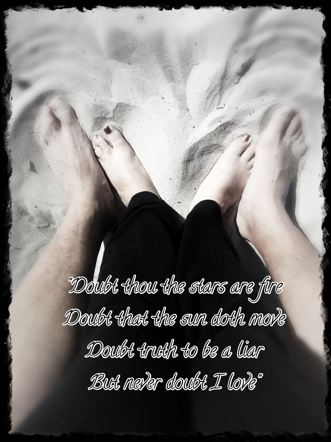 """""""Doubt thou the stars are fire; Doubt thou the sun doth ..."""
