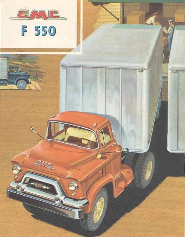 1958 GMC F550 Truck Sales Brochure wx7019-QJJTBD   GMC   Pinterest ...