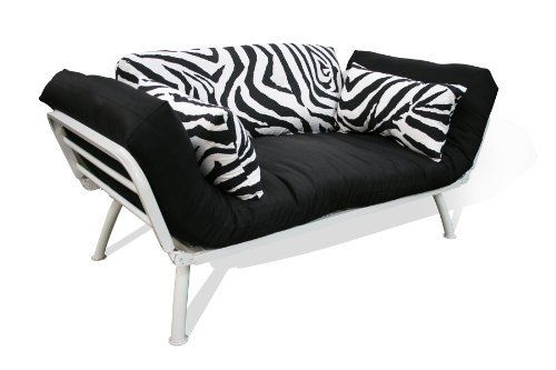 american furniture alliance modern loft collection futon mali flex  bo zebra print by american furniture american furniture alliance modern loft collection futon mali flex      rh   pinterest