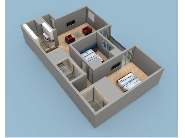 2 Bedroom 2 Bath Floor Plan With 964 Sq Feet Of Living Space Rivercrest Apartments 7928 La Riviera Drive Sacramento Ca Floor Plans Flooring Living Spaces