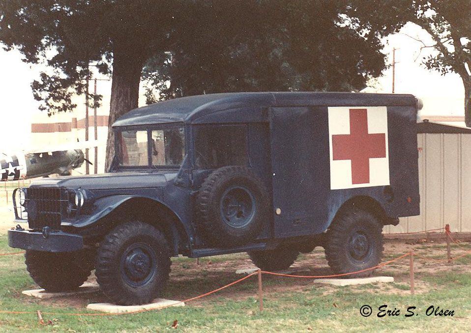Medic truck at Barksdale AFB LA at the 8th Air Force