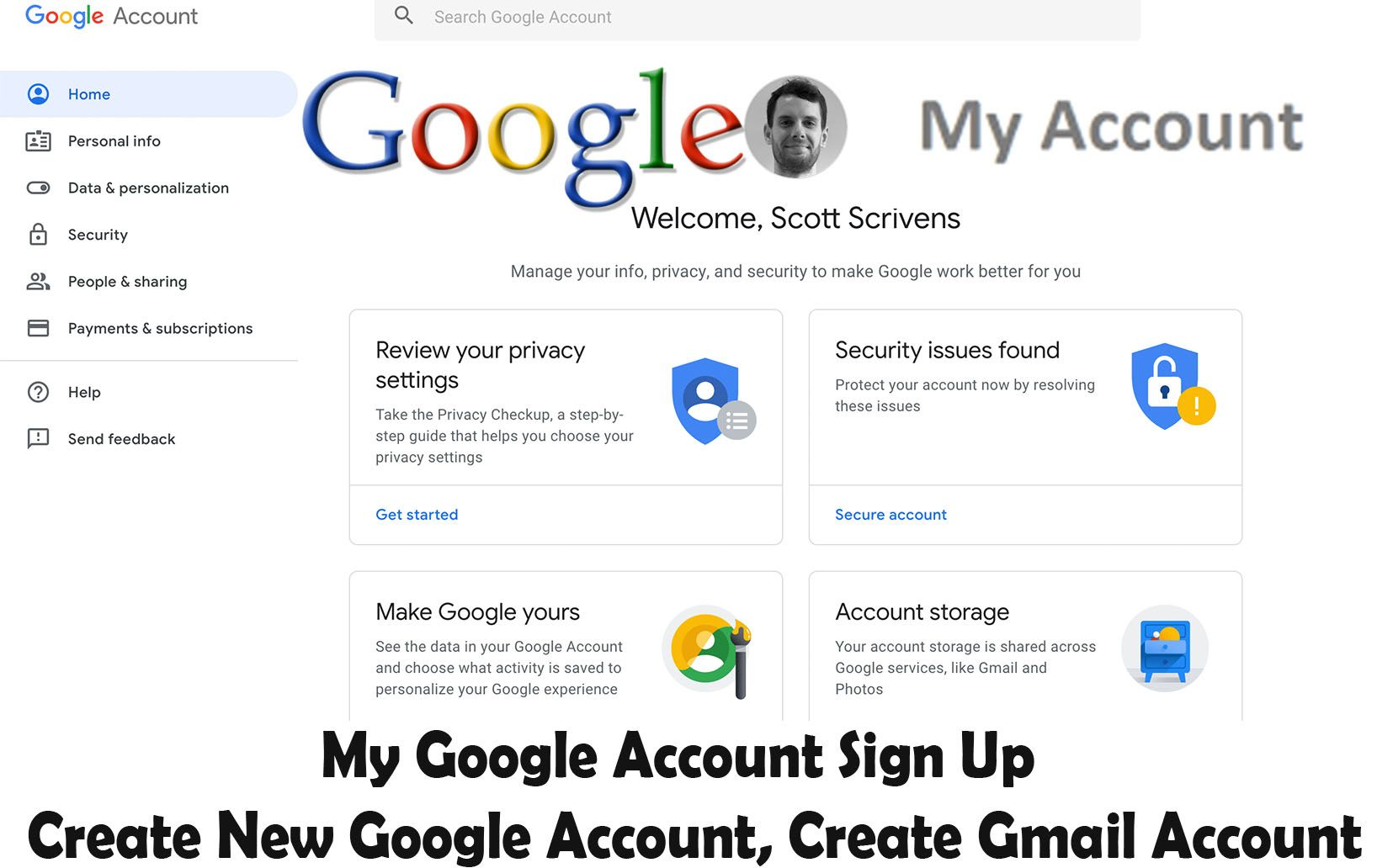 Create A Google Account How To Protect Your Google Account With