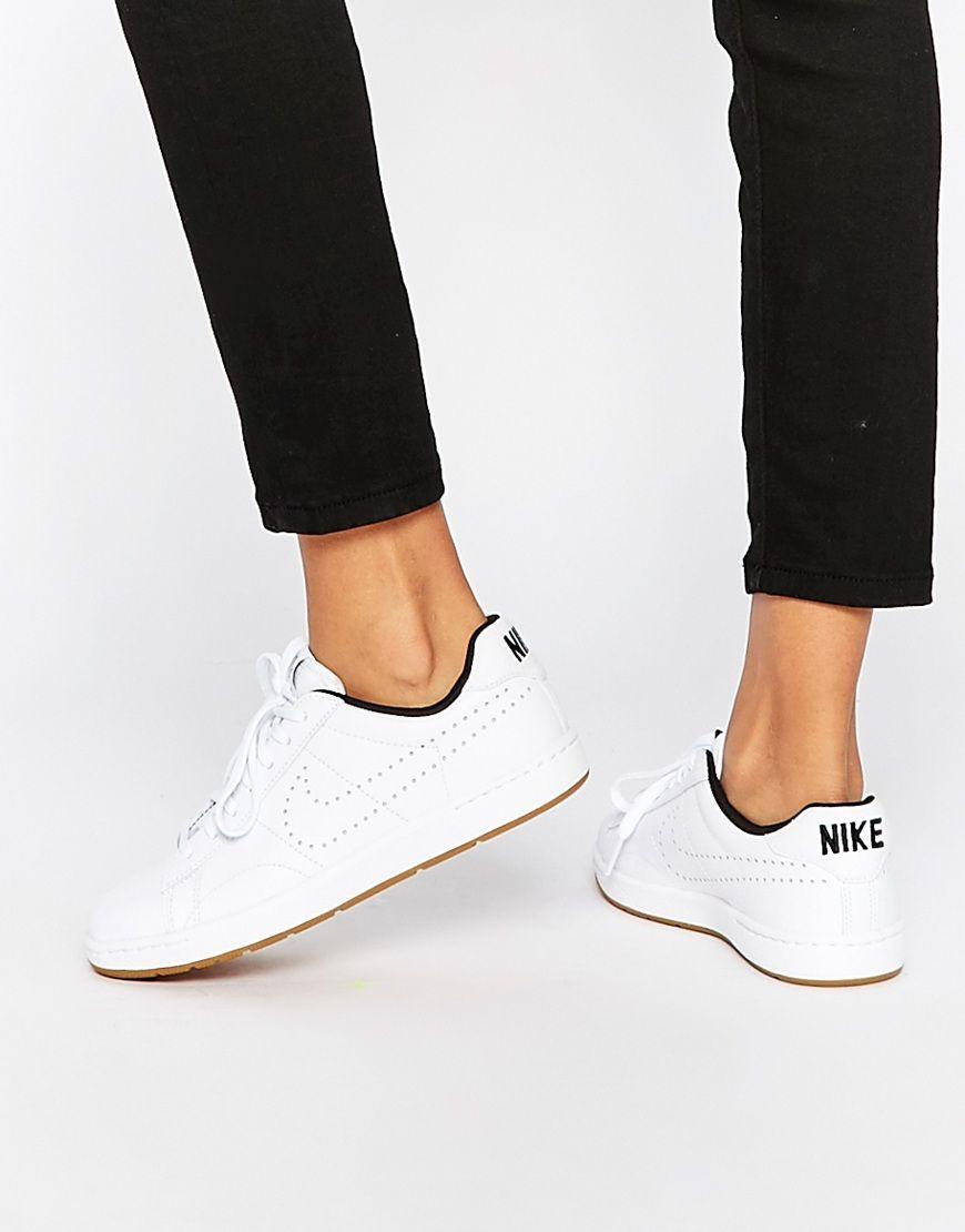 zapatillas nike mujer piel